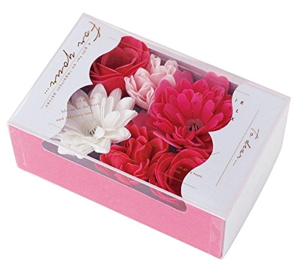 感嘆消毒するお手伝いさんノルコーポレーション 入浴剤 バスペタル フルリールフローラルボックス 22g フルーティーの香り OB-FFL-1-2