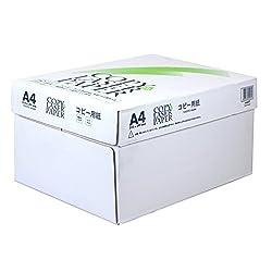 エイプリル コピー用紙 A4 2500枚 コピー&レーザー 高白色 ZI101000172
