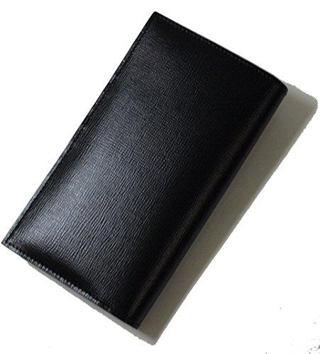 (ヴァレクストラ)Valextra 長財布 二つ折 (ブラック) V8L70-044-000N VX-115F [並行輸入品]