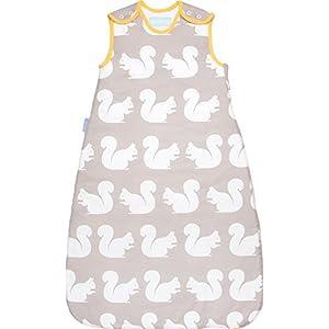 エデュテ グロバッグ grobag Anorakシリーズ キッシングスクワラルズ Kissing Squirrels 6~18ヶ月 2.5tog イギリス生まれの赤ちゃん用寝袋 スリーピングバッグ