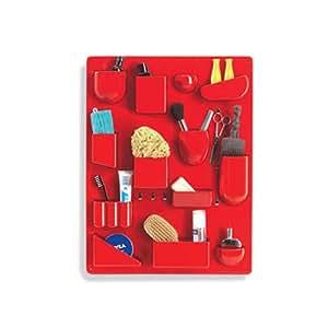 【正規取扱店】 vitra ヴィトラ Uten. Silo II ウーテン シロ 2 デザイン:Dorothee Becker カラー:3色 ABSプラスチック 小物入れ 壁面収納 ストレージ 壁掛け 収納 工具 家具 (レッド)