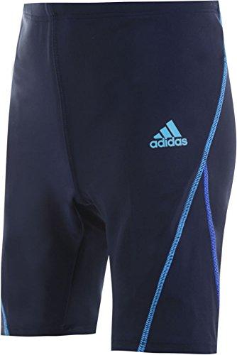 (アディダス)adidasボーイズハーフタイプスクール水着【dlr99】160cmネイビー(ライン青)