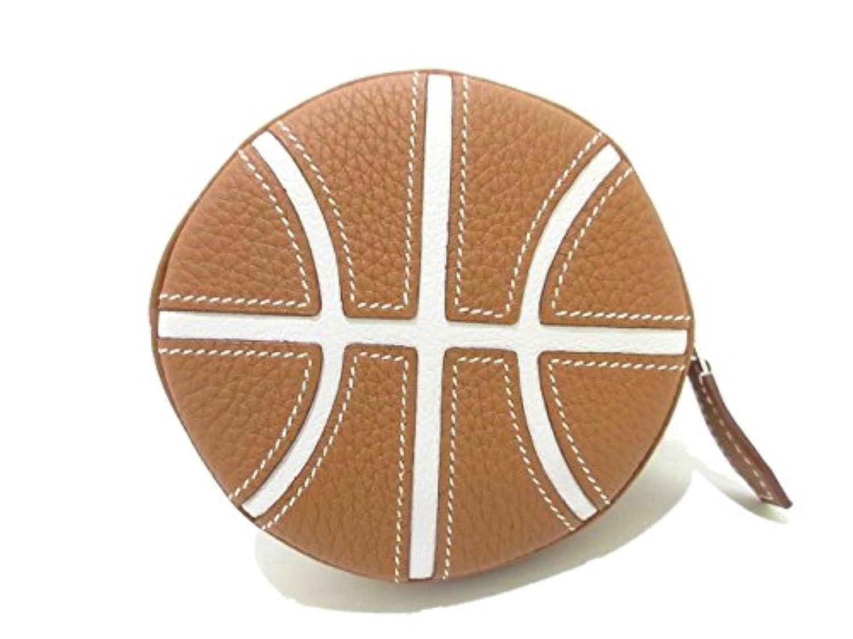 (エルメス) HERMES コインケース バスケットボール ゴールド×グリペール 【中古】