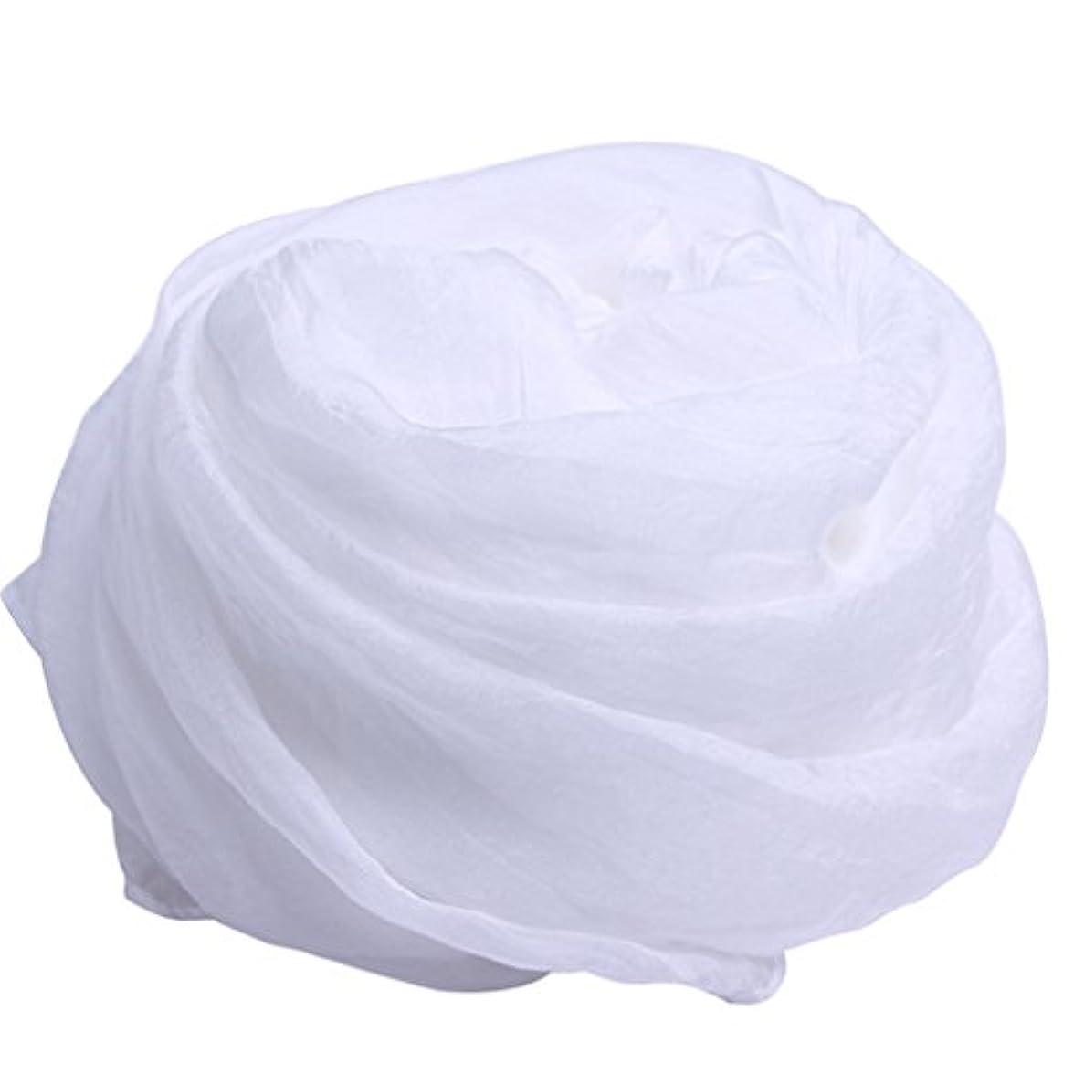注釈を付ける慣性家事をするレディース?ショール - 女性の白いシルクスカーフ2018ワイルドシフォンマフラーロングセクションピュアカラーラージスクエアスカーフ抗UV日焼け止めビーチタオル春と夏 家の装飾 ( サイズ : 150*150cm )