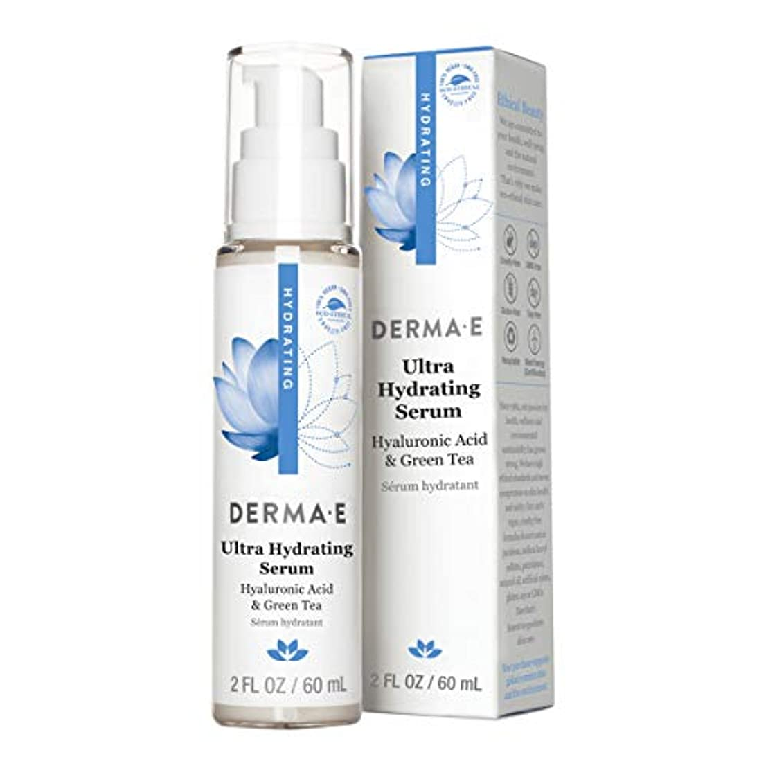 正確な小学生批判するDerma E Hydrating Serum 60ml/2oz並行輸入品