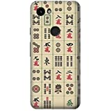 JP0802P3A 麻雀 Mahjong Google Pixel 3a ケース