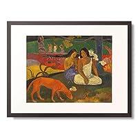 ポール・ゴーギャン Eugène Henri Paul Gauguin 「アレアレア」 額装アート作品
