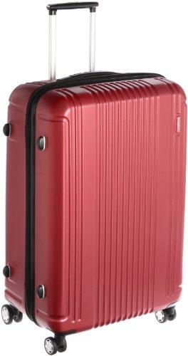 [バーマス]BERMAS スーツケース PRESTIGEII 68cm 83L 3.9kg ポーチ付 ファスナータイプ HINOMOTOキャスター TSAロック 60264-44(ワイン)