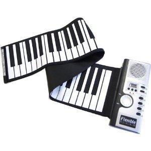 ロールピアノ くるくる巻ける 電子ロールピアノ 電子ピアノ 持ち運びロールピアノ 61キー ロールピアノ