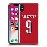 ARSENAL FOOTBALL CLUB アーセナルFC - Alexandre Lacazette ハード case/iPhoneケース 【公式/オフィシャル】