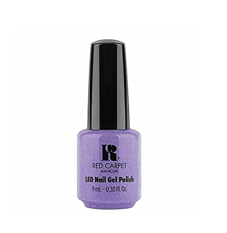 交通渋滞麻酔薬印をつけるRed Carpet Manicure LED Gel Polish - Flirting With Fringe - 9 ml / 0.30 oz