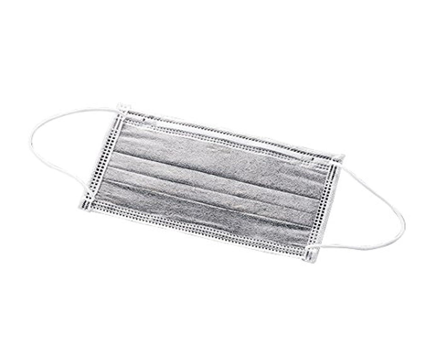 電信乗り出す名義でアズワン 高性能活性炭マスク(4層タイプ)