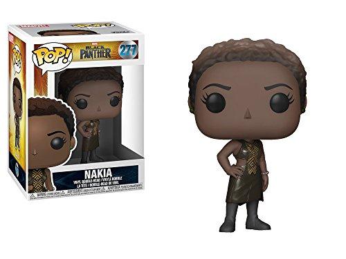 Marvel(マーベル) Black Panther(ブラックパンサー) ナキア Funko/ファンコ Pop! Marvel VINYL ボブルヘッド [並行輸入品]