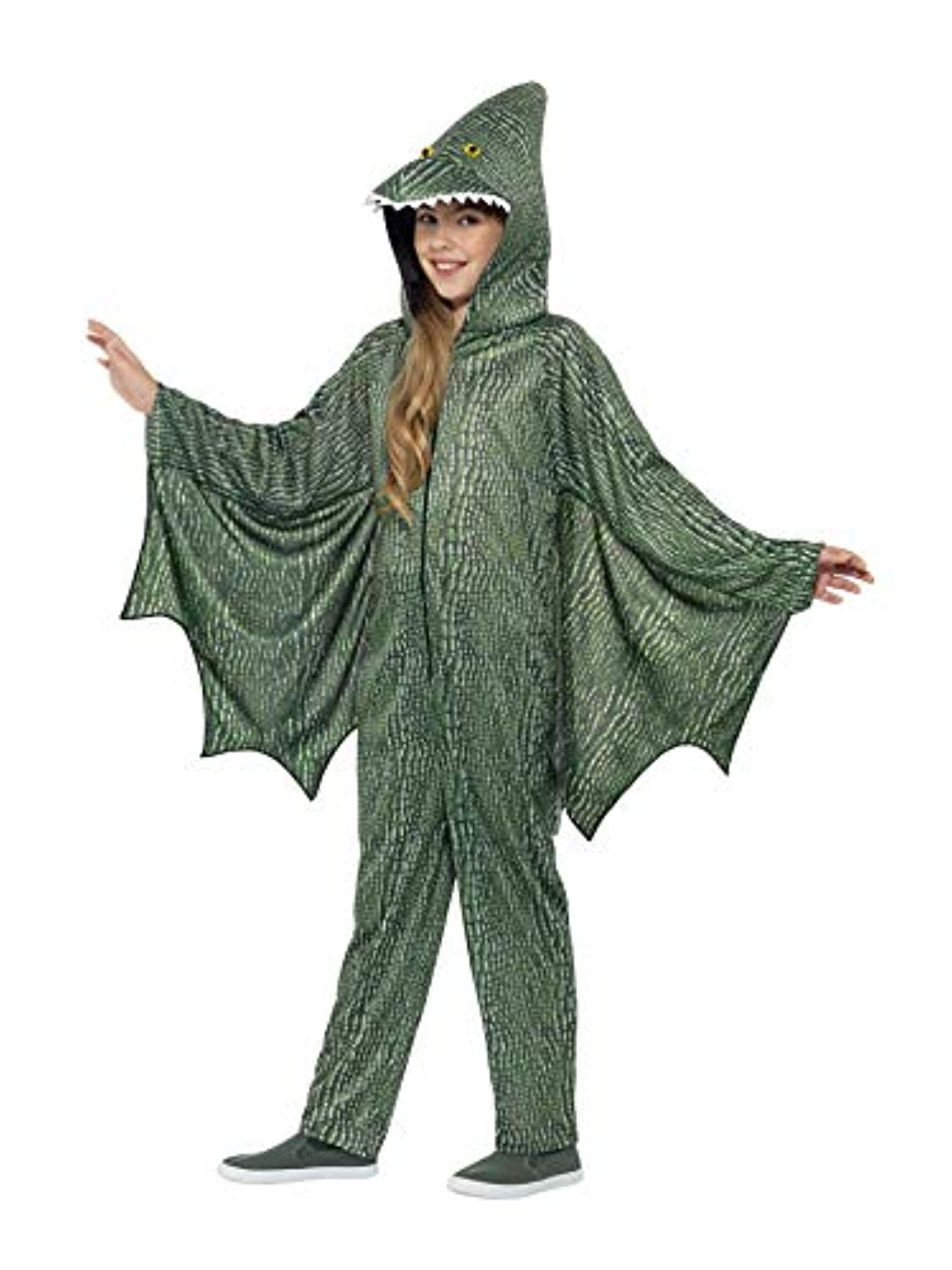 (Small Ages 4 -6) - Pterodactyl Dinosaur - Childrens Fancy Dress Costume - Small - 128cm - Age - 4-6