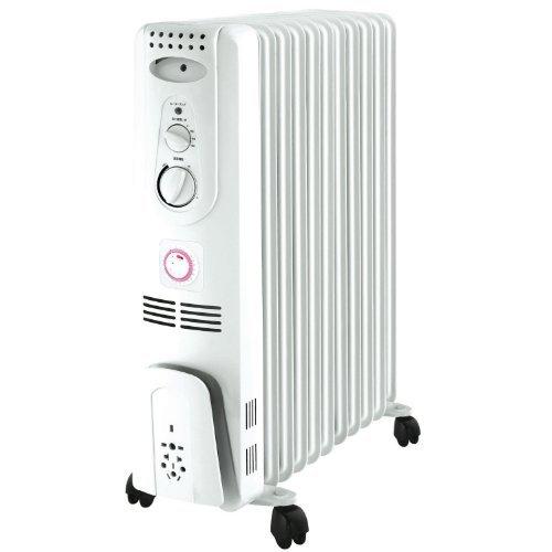 ΛzICHI オイルヒーター 24時間タイマー 自動温度調節機能 (4〜10畳用) OIL-001