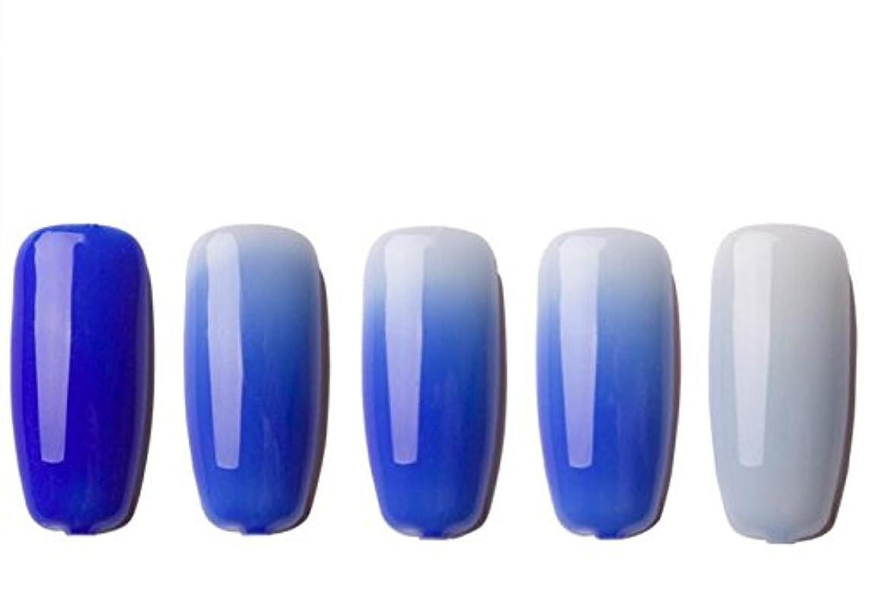 特別なハッチ可聴1ボトル 温度によって色が変わるジェル  変色ジェル ネイルジェル  UV/LEDジェルネイルアート  (02) [並行輸入品]