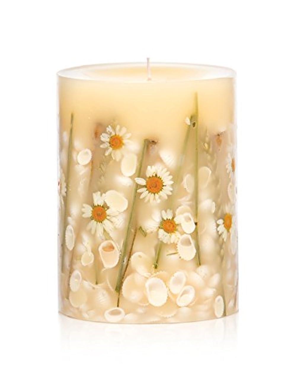 雑草下線蓮ロージーリングス ボタニカルキャンドル ラウンド ビーチデイジー ROSY RINGS Round Botanical Candle Round – Beach Daisy