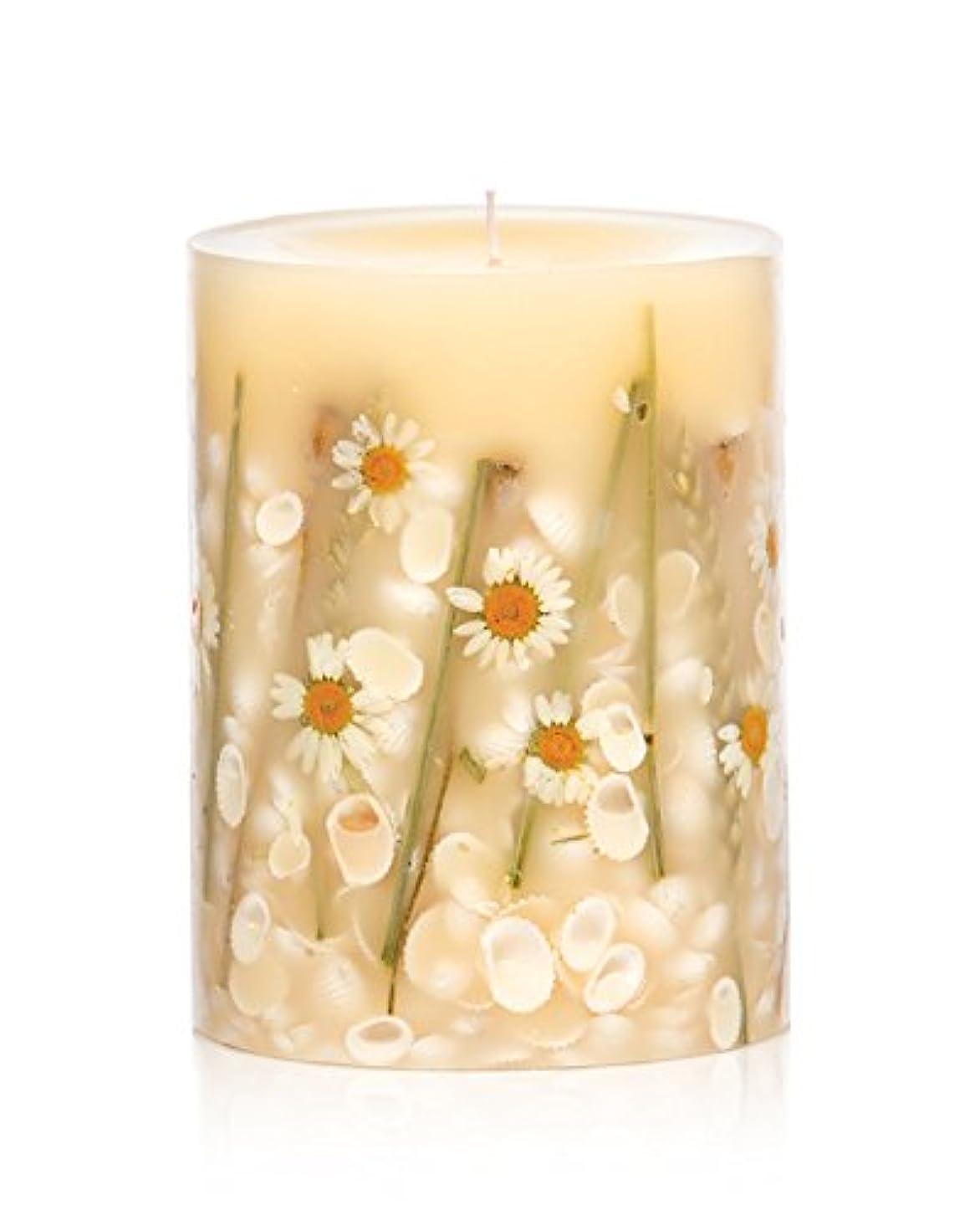 乗算読書をする日曜日ロージーリングス ボタニカルキャンドル ラウンド ビーチデイジー ROSY RINGS Round Botanical Candle Round – Beach Daisy