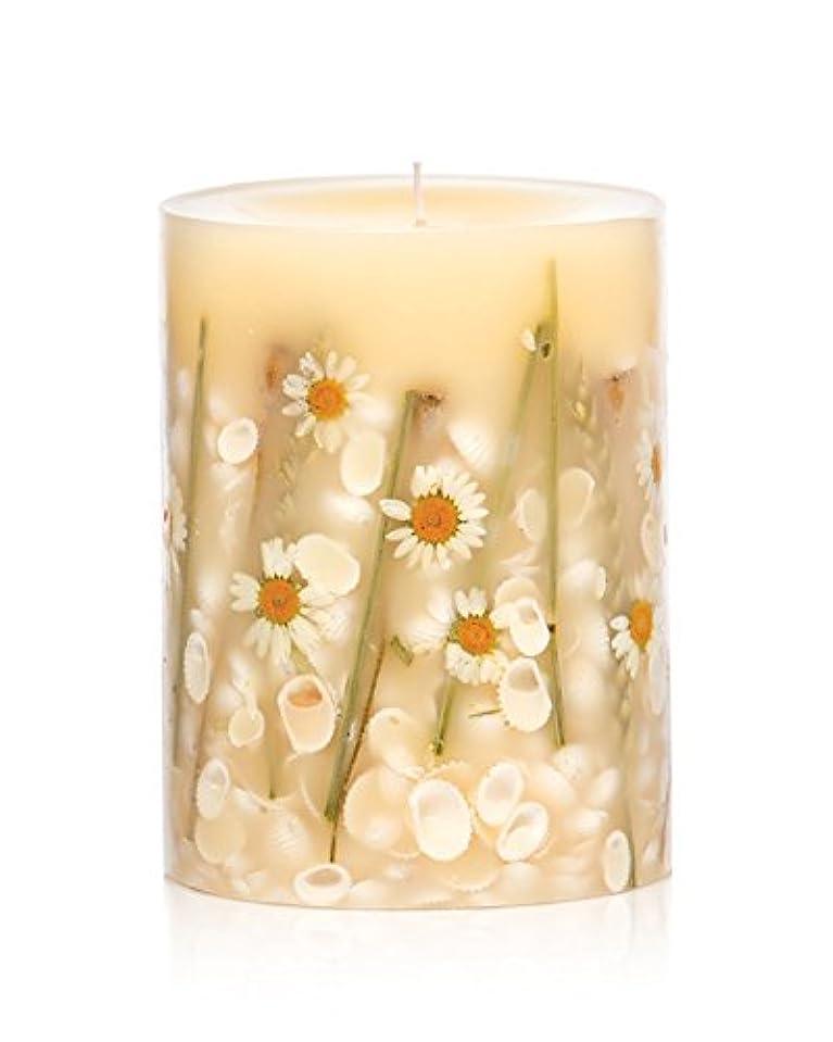 難しいプリーツ恥ロージーリングス ボタニカルキャンドル ラウンド ビーチデイジー ROSY RINGS Round Botanical Candle Round – Beach Daisy