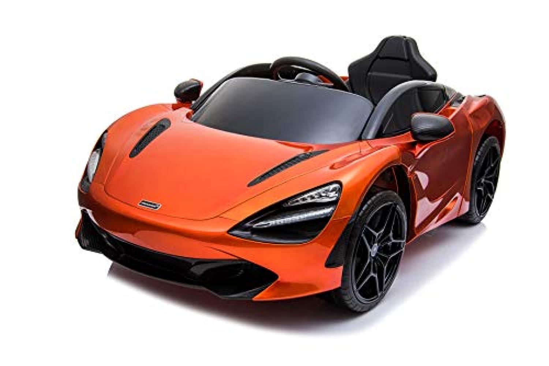 乗用ラジコン McLaren 720S マクラーレン ライセンス品のハイクオリティ バタフライドア ペダルとプロポで操作可能な電動ラジコンカー 乗用玩具 子供が乗れるラジコンカー 電動乗用玩具 本州 [DK-M720S] (オレンジ)