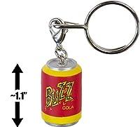 Buzz Cola: 2.8cm The Simpson's Woo Hoo 25th Anniversary x Kidrobot Micro Charm Keychain Series