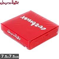 チョコレート CHOCOLATE スケボー ワックス RED SQUARE SKATE WAXレッド NO6