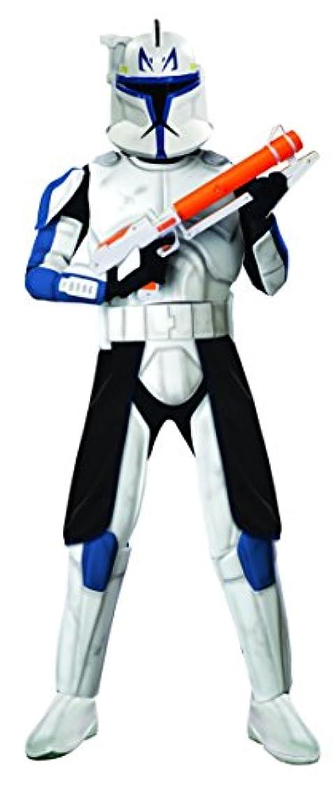 フレアリーチどれ4 PC。メンズスターウォーズDeluxe Captain Rex Clone Trooperジャンプスーツセット