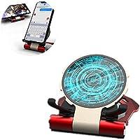 ワイヤレス充電器10W ワイヤレス高速充電 デスクトップ 携帯電話ホル ー アルミニウム合金 ガラスブラケット に適して ワイヤレスで充電できる携帯電話