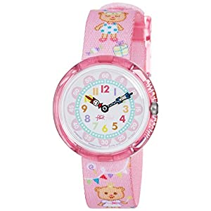 [フリック フラック]FLIK FLAK キッズ腕時計 LOVELY PARTY ZFBNP083 ガールズ 【正規輸入品】