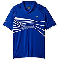 Lacoste Men's Sport Djovokic Short Sleeve Ultra Dry Graphic Polo