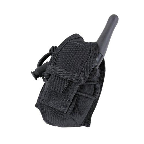 CONDOR(コンドル) タクティカルギア MA56 HHR ポーチ(トランシーバー) ブラック