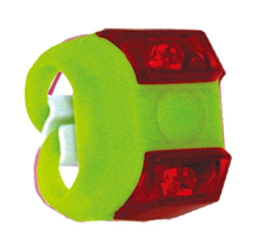 鰐かもしれない衝突ANTAREX(アンタレックス) 1レッドLEDバッテリーフラッシュライト ZX1-R グリーン