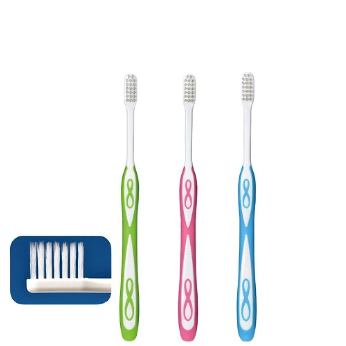楽観おかしいマラウイLover8 ラバーエイト テーパー毛歯ブラシ × 1本 Ciメディカル 【歯科専売品】