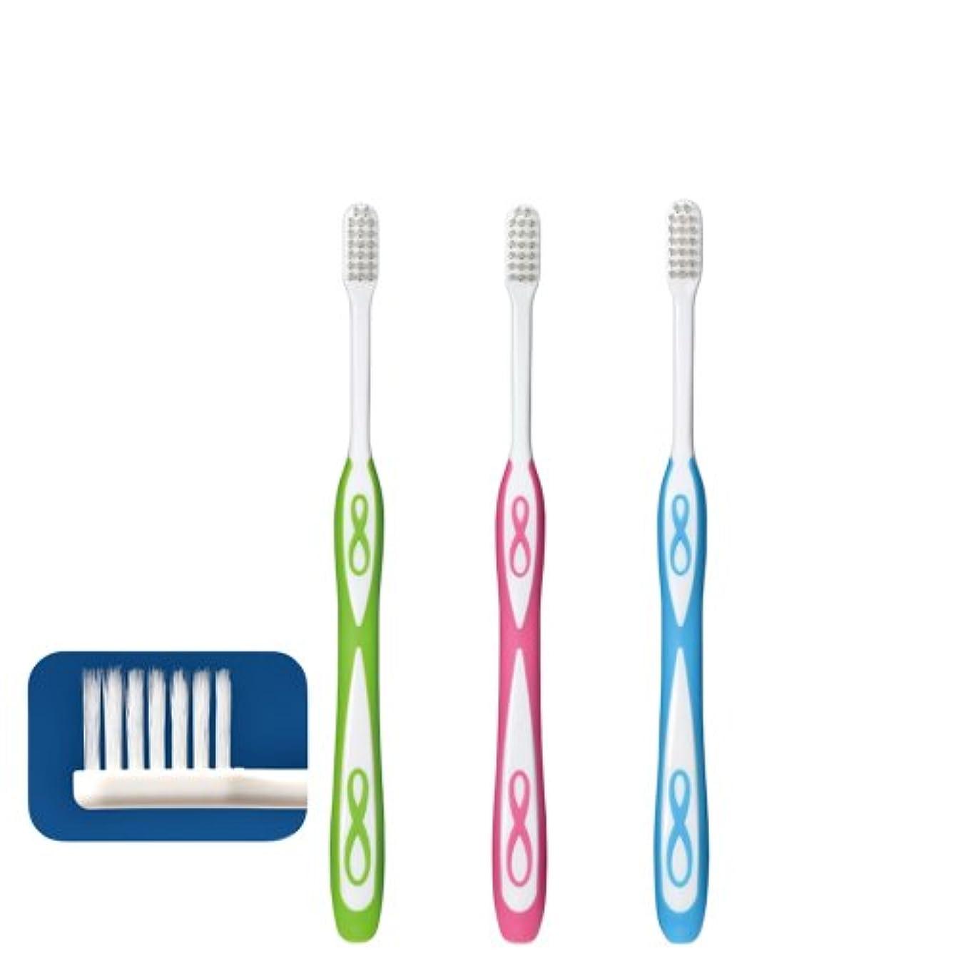 寸法考案する幼児Lover8 ラバーエイト テーパー毛歯ブラシ × 1本 Ciメディカル 【歯科専売品】