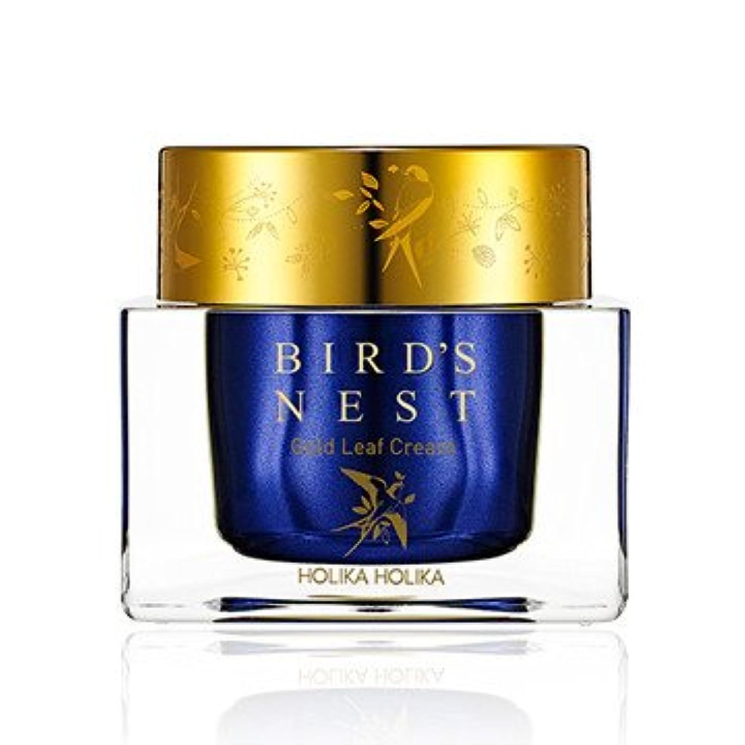 エンディング脅迫出くわす[2018 NEW] ホリカホリカ プライムユース バーズネスト ゴールドリーフ クリーム/Holika Holika Prime Youth Birds Nest Gold Leaf Cream 55ml [並行輸入品]
