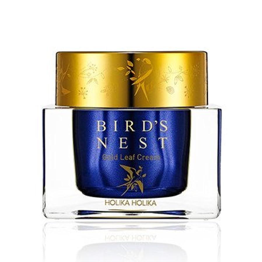 概念残酷バドミントン[2018 NEW] ホリカホリカ プライムユース バーズネスト ゴールドリーフ クリーム/Holika Holika Prime Youth Birds Nest Gold Leaf Cream 55ml [並行輸入品]