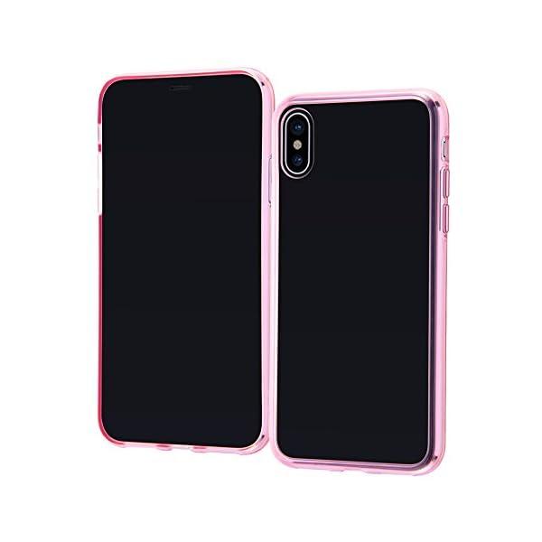 レイ・アウト iPhone X ケース ハイブリ...の商品画像