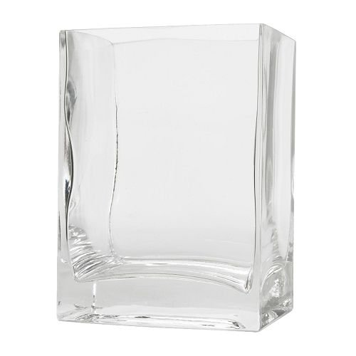 IKEA(イケア) REKTANGEL 花瓶 クリアガラス