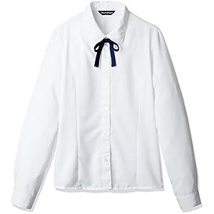(セシール)cecile(セシール) スクール長袖丸衿ブラウス OTH-390 1 ホワイト 160
