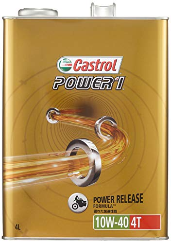 カストロール パワー1 4T 10W-40 4サイク...