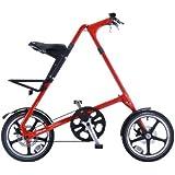 STRIDA(ストライダ) 16インチアロイ製折りたたみ自転車 [ディスクブレーキ/リアキャリア/泥除け/ベル標準装備] STRIDA LT(2014) レッド
