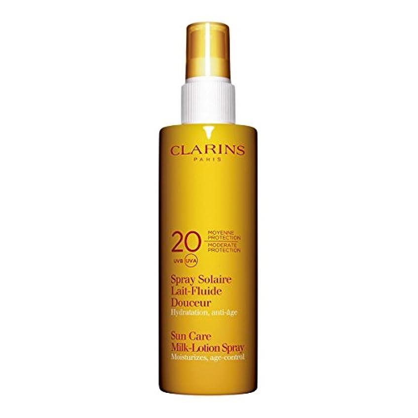呼吸冷える子豚Clarins Sun Care Milk-lotion Spray Uva/uvb 20 150ml [並行輸入品]