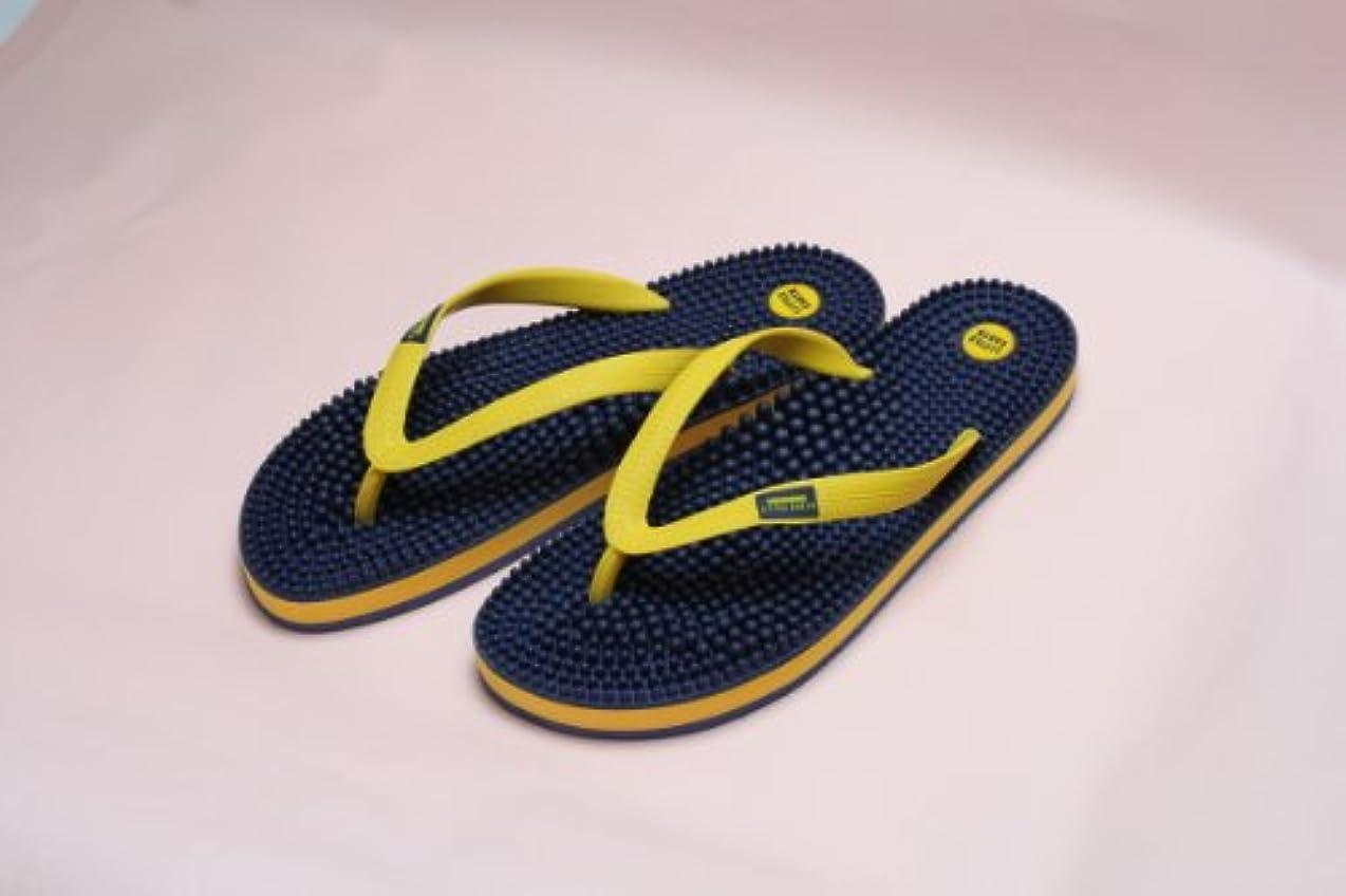無実靴そばにリトルアース ボディポップ(body+pop) ビーチ(BeacH) 5002 ネイビー/マスタード 27cm