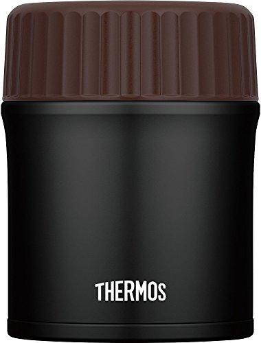 THERMOS (サーモス) 真空断熱スープジャー 380ml マットブラック JBI-383 MTBK B0746MMR6H 1枚目