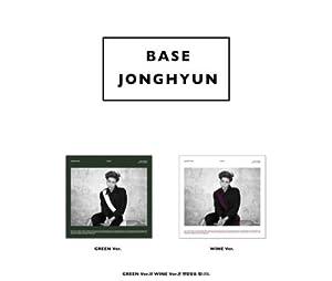 JONGHYUN ジョンヒョン SHINee - Base (1st Mini Album) [Random ver.] CD + Photobook + Photocard [KPOP MARKET特典: 追加特典フォトカード] [韓国盤]