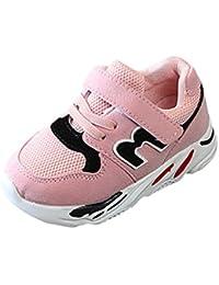 Vacally 男の子 女の子 ソフトボトム 幼児用靴 レジャー スニーカー アウトド ワイルド ア ファッション かわいい レター 番号 マジックスティック メッシュガ sports shoes