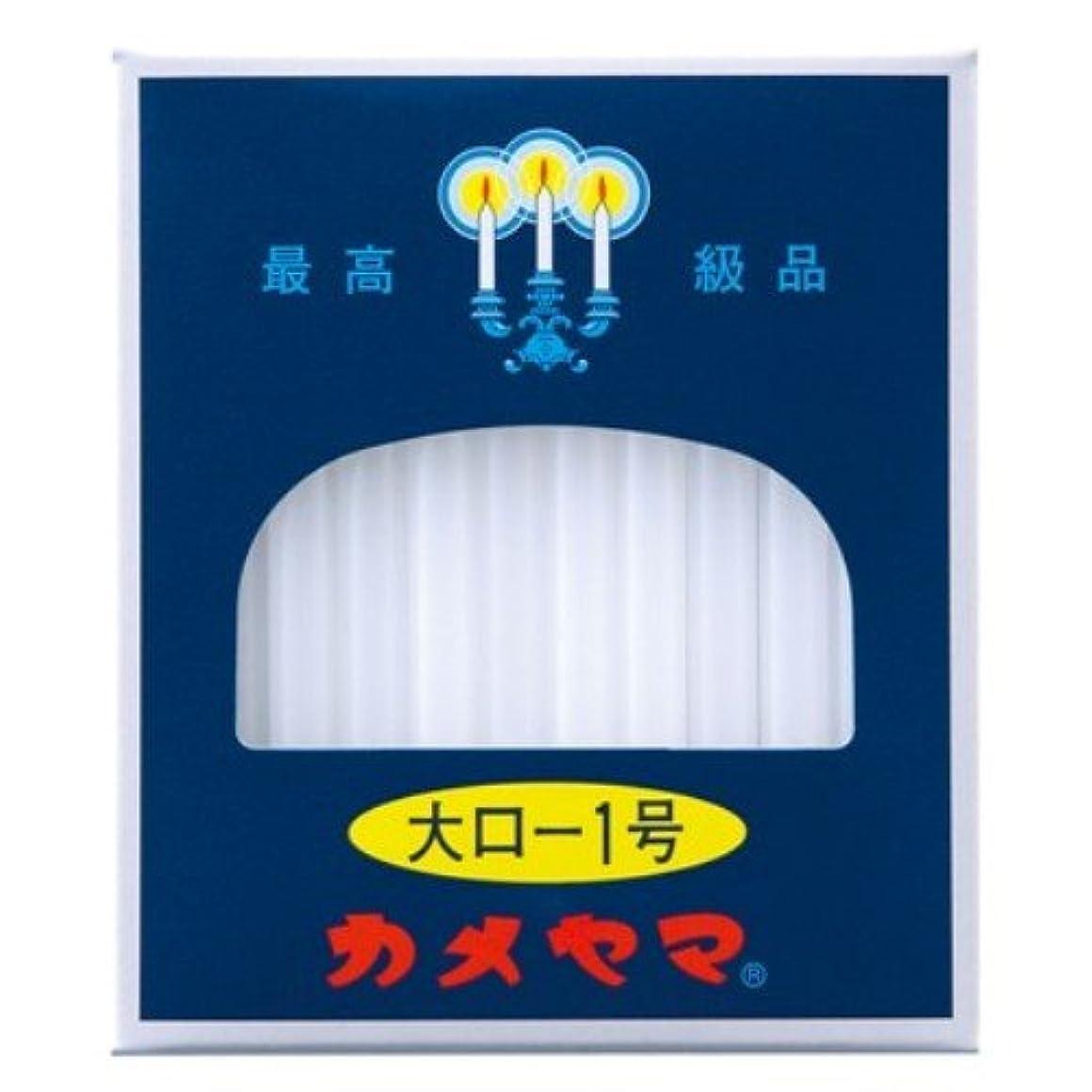 子犬電信サミュエルカメヤマ 大ローソク 1号 225g