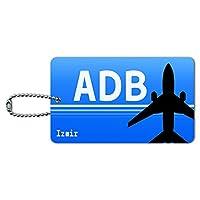 イズミルトルコ(ADB)空港コード IDカード荷物タグ