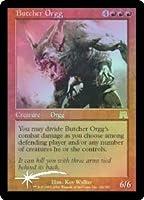 英語版フォイル オンスロート Onslaught ONS 解体するオーグ Butcher Orgg マジック・ザ・ギャザリング mtg