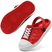 WALUCAN Boys & Girls Water Aqua Shoes Swimming Pool Beach Sports Quick Drying Athletic Shoes (Toddler/Little Kid/Big Kid)